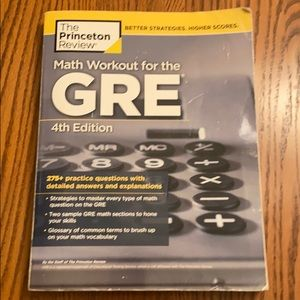 Math Workout for GRE 4th ed Princeton Review